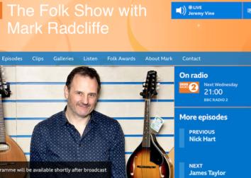 R2 folk show mark radcliffe